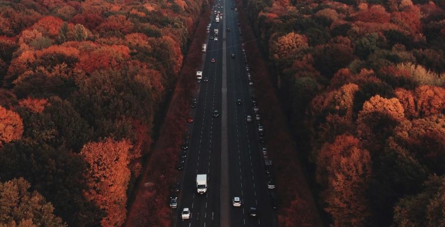 highway in Autumn