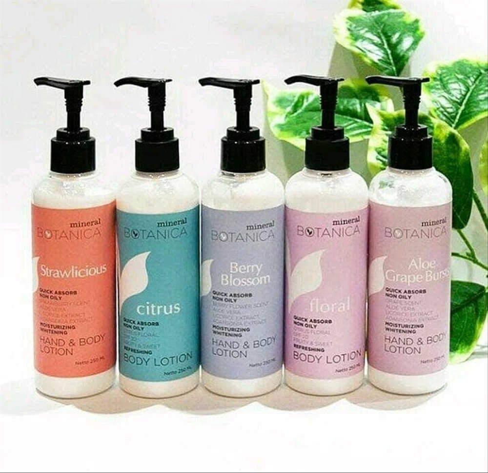 Mineral Botanica Hand & Body Lotion Berry Blossom