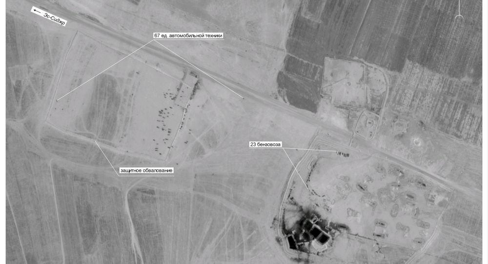 انتشار تصاویری از قاچاق نفت سوریه توسط آمریکا