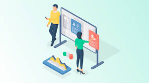 Virtual whiteboards helping people connect and work efficiently.