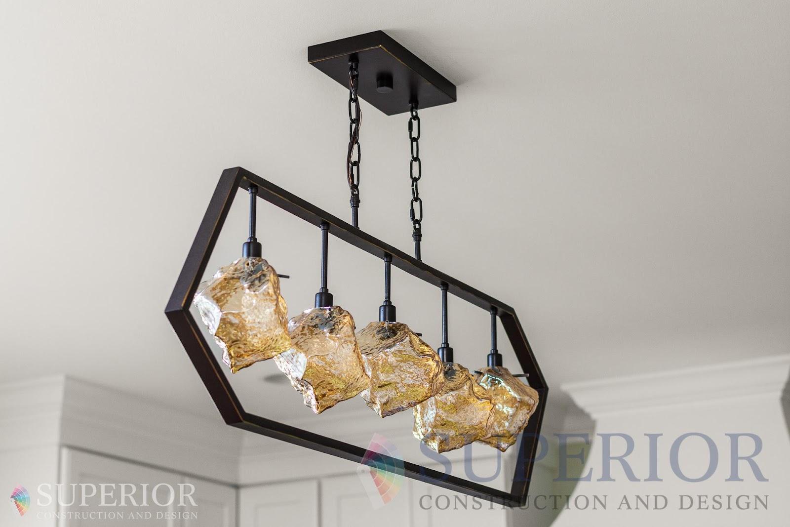 creative lighting kitchen remodel fixtures statement piece