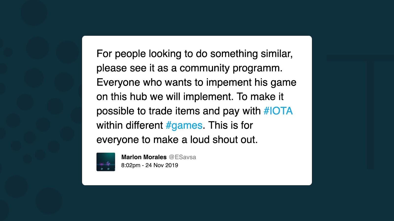 IOTA game