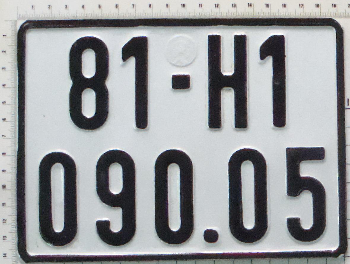 Phòng Kỹ thuật hình sự triển khai giám định biển số xe