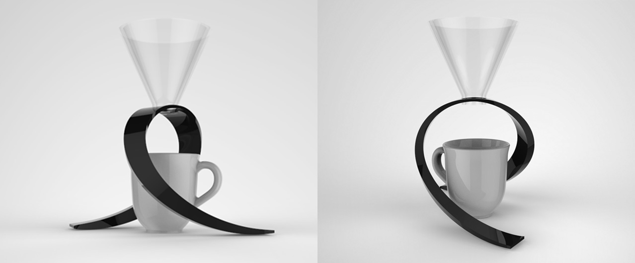 3D printed pour over stand