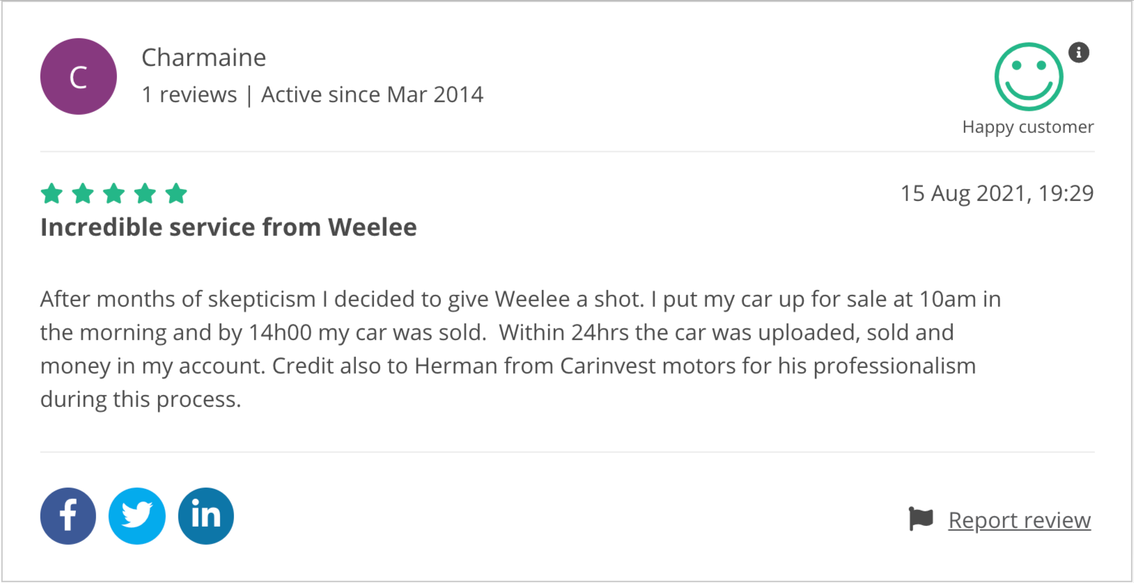 Selling your car - what SA women have to say about Weelee
