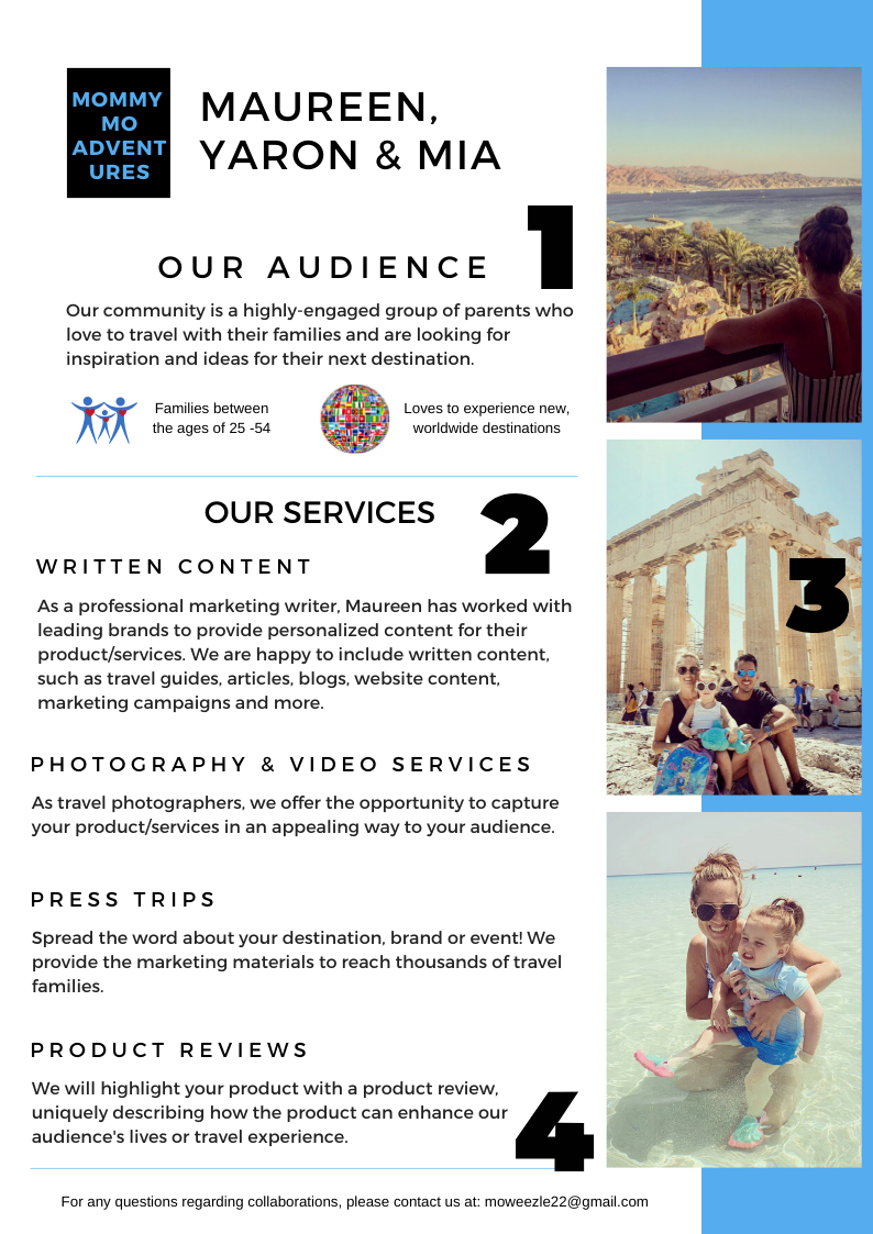 MommyMoAdventures Media Kit pg2