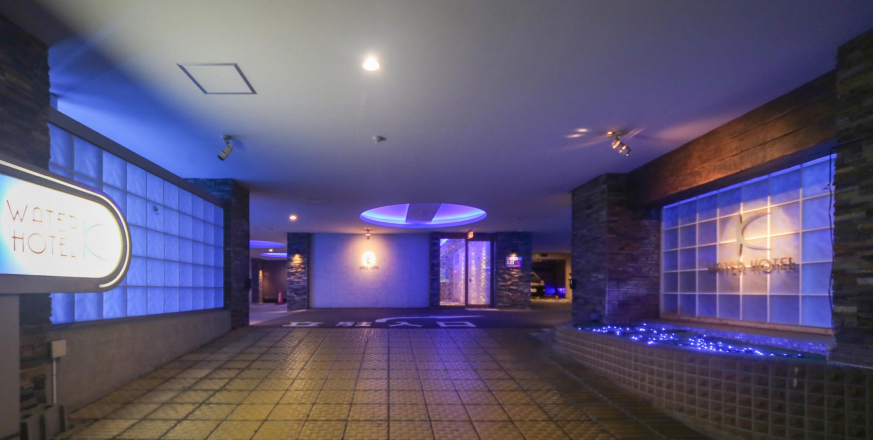 ① ゲイカップルOKの札幌中央区すすきの近くのラブホ【WATER HOTEL K】