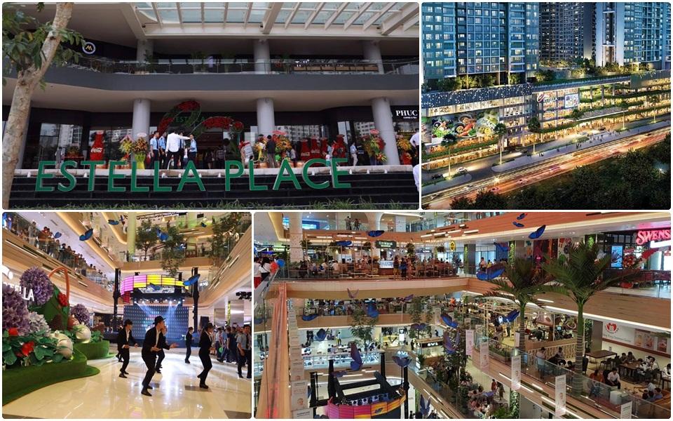 Trung tâm thương mại Estella – Không gian Singapore giữa lòng Sài Gòn