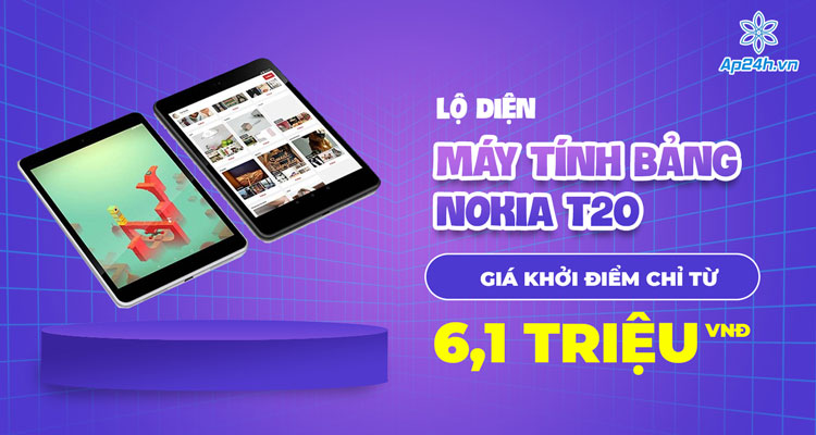 Nokia T20 đang chờ ngày ra mắt