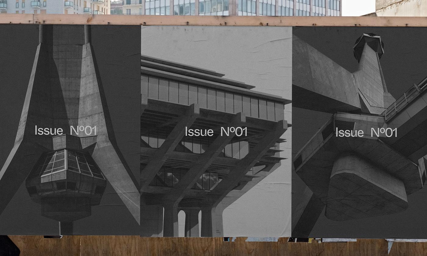 Editorial Design : New Brutalism Controversial Concrete 16