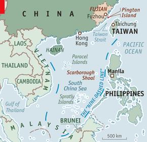 China and Taiwan - Strait talking | China | The Economist