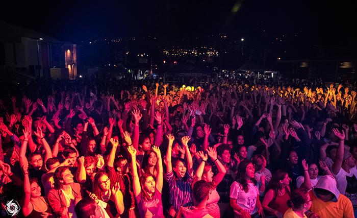 Miércoles 1, jueves 2 y viernes 3, se desarrollaron conciertos masivos en el Campus Central del TEC, en Cartago. Foto: Cortesía Feitec, Steven Saborio.