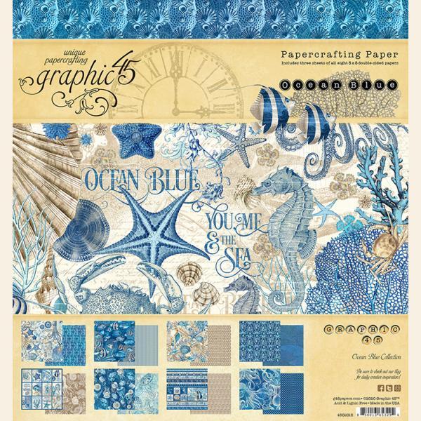 Ocean Blue 8x8 Pad