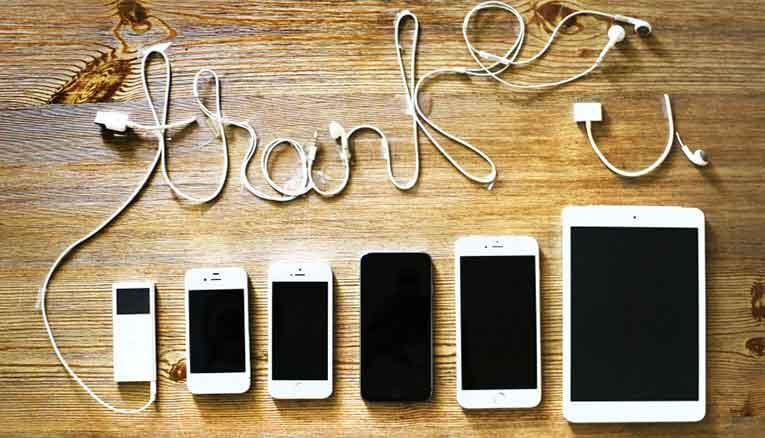 """thank you"" and iphones"