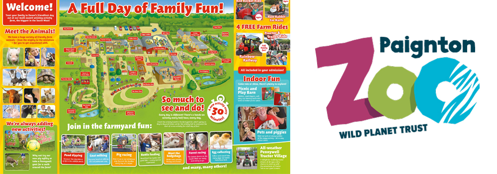 Enjoy a family day out at Paignton Zoo or Pennywell Farm.