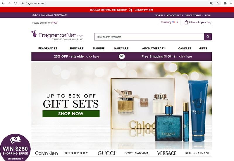 Fragancenet.com - Trang web mua hàng Mỹ chính hãng chuyên thương hiệu nước hoa nổi tiếng với mức giá ưu đãi nhất