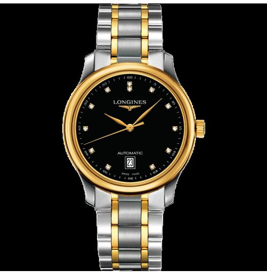 Đồng hồ vàng nam L2.628.5.57.7 mạ vàng 18k