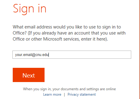 SignIn Email