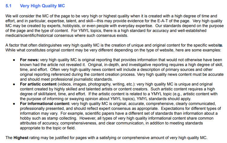 инструкции по оценке качества новостных сайтов