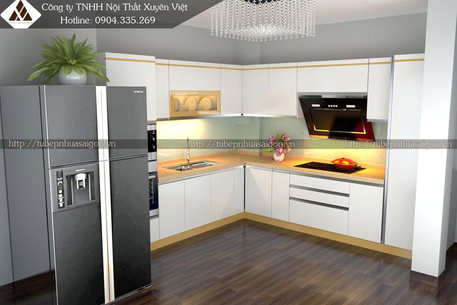 Tủ bếp hiện đại là tủ bếp như thế nào hình 2