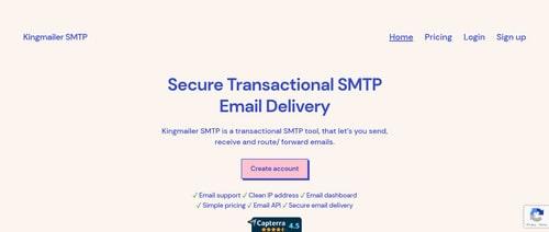 Kingmailer SMTP