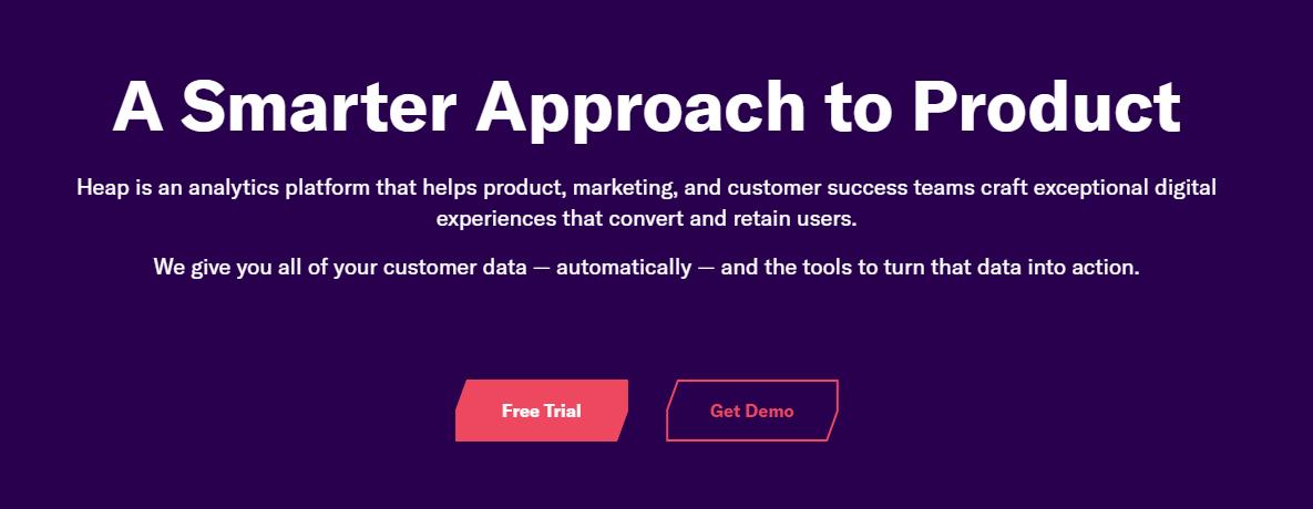 heap marketing analytics tool