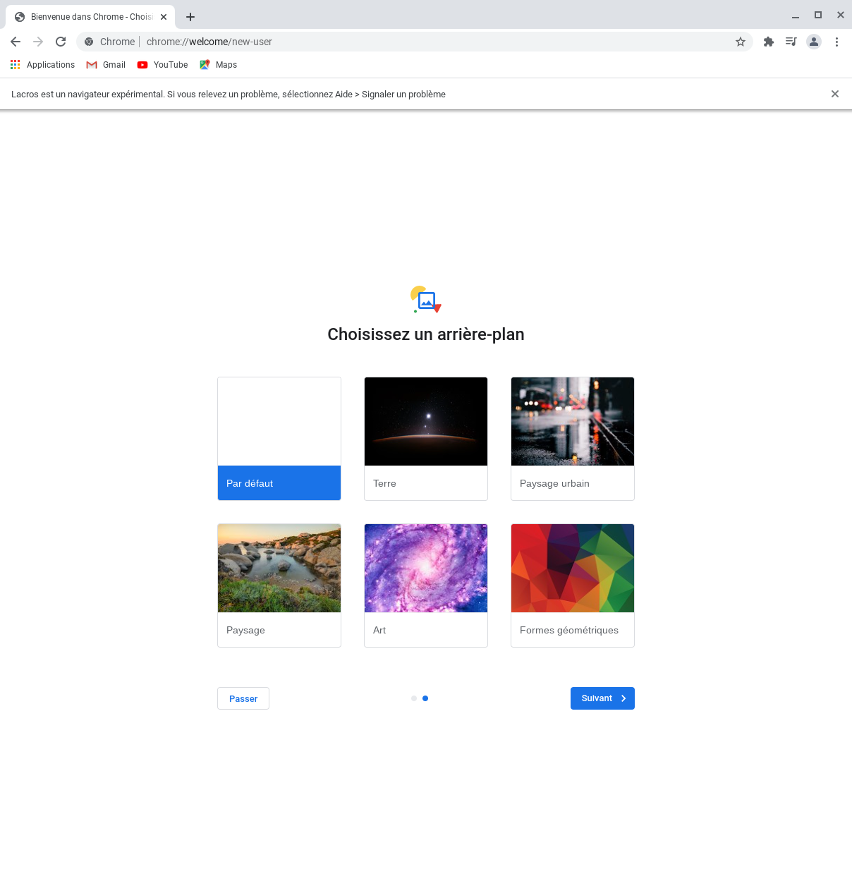 Savoir installer le navigateur web Lacros de Google