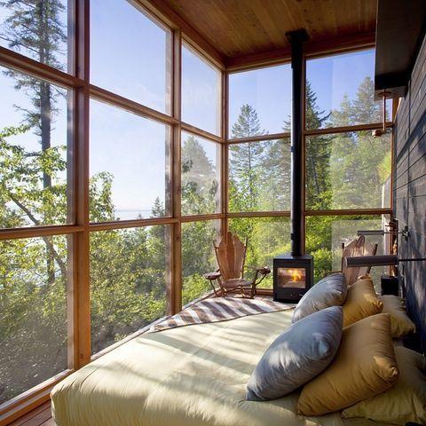 Make A Contemporary Porch Bedroom