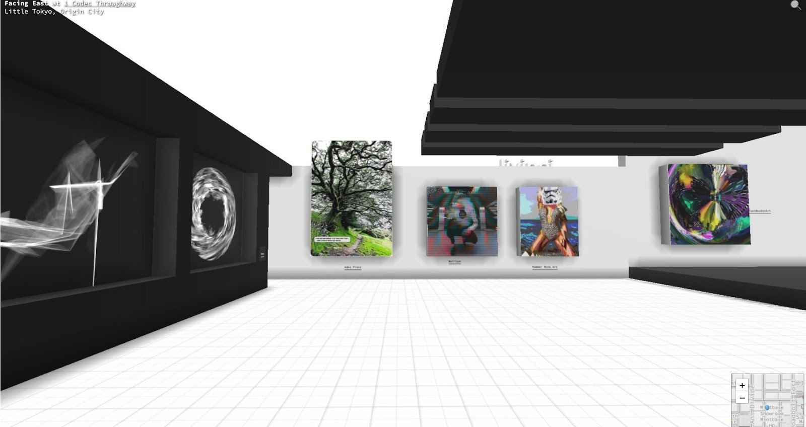 Mintbase NFT gallery