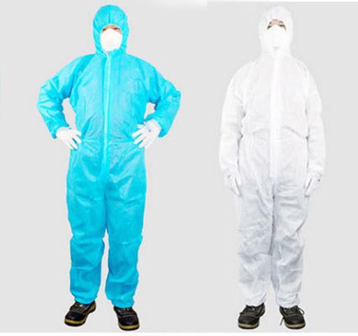 Quần áo y tế dùng 1 lần có nhiều kiểu dáng và màu sắc để chọn lựa