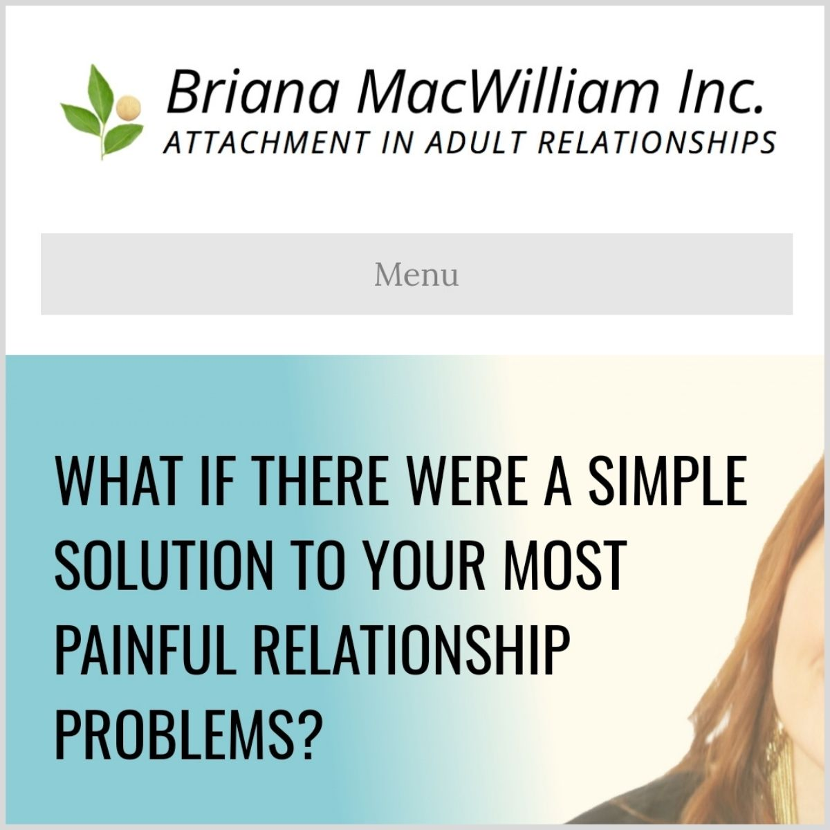 Relationship coach example