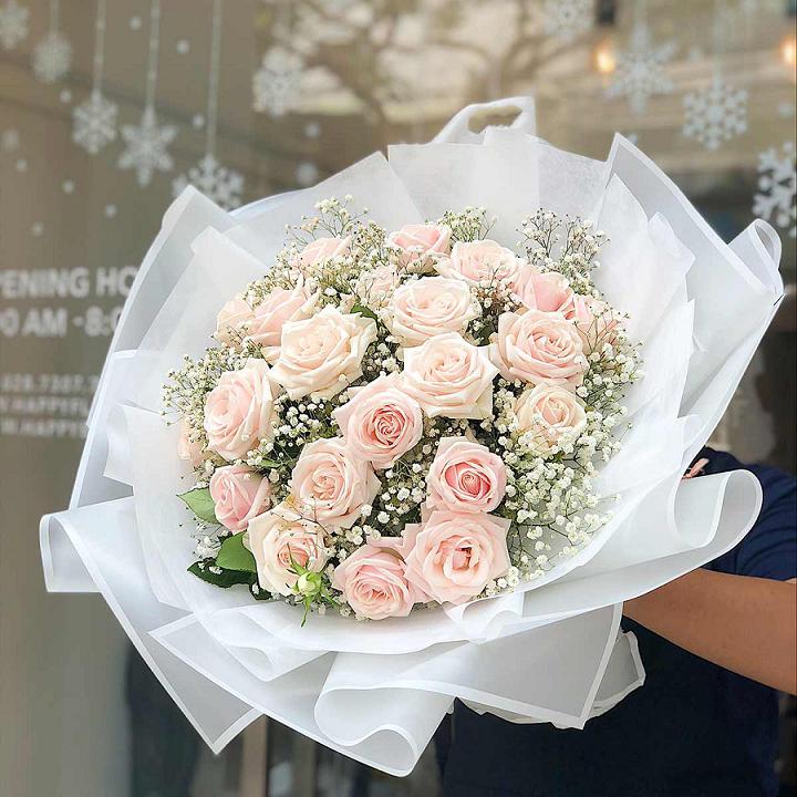 Ý nghĩa hoa hồng phấn - Cách thể hiện tình cảm đặc biệt