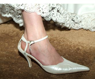 Zapato puntera larga