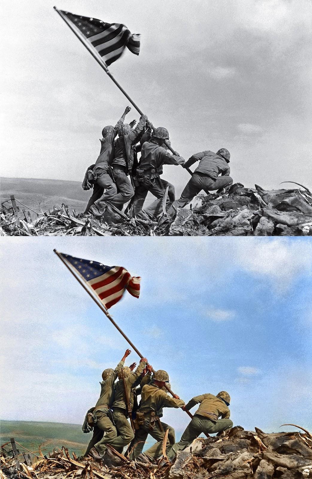 Flag Raising Iwo Jima Joe Rosenthal,