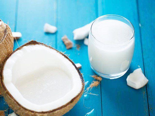 coconut milk for skin