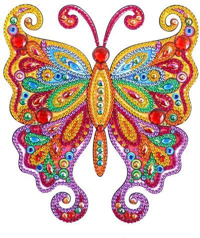 Full Drill Butterfly Diamond Art Kits for Kids