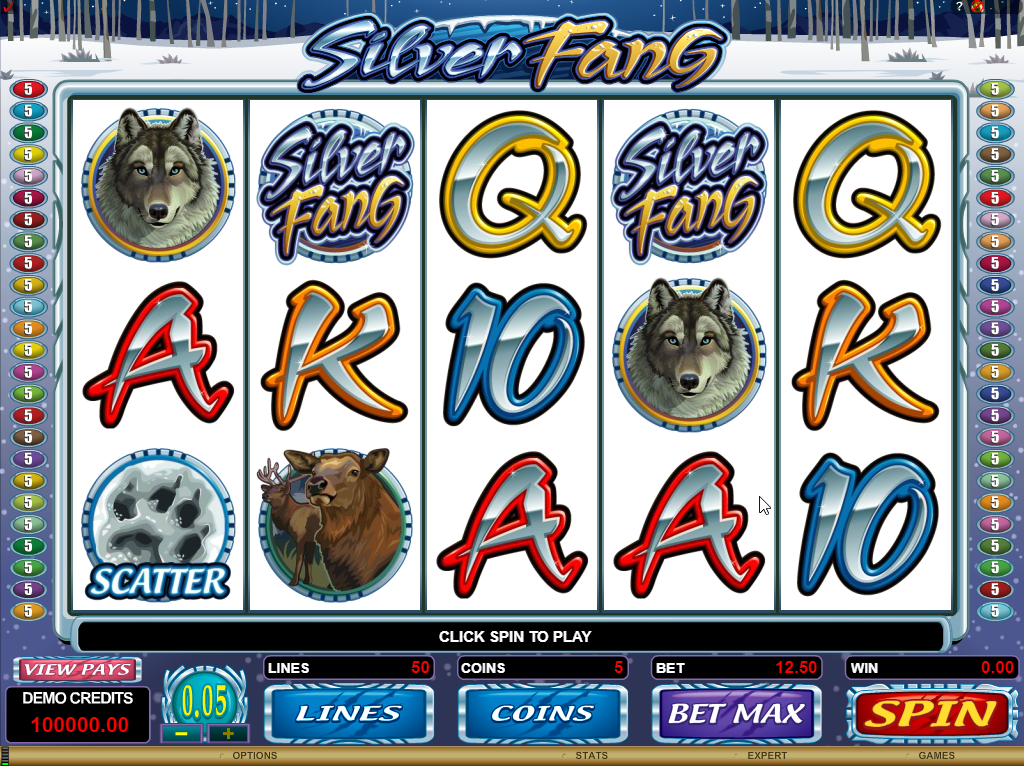 Silver Fang Slots Game Review