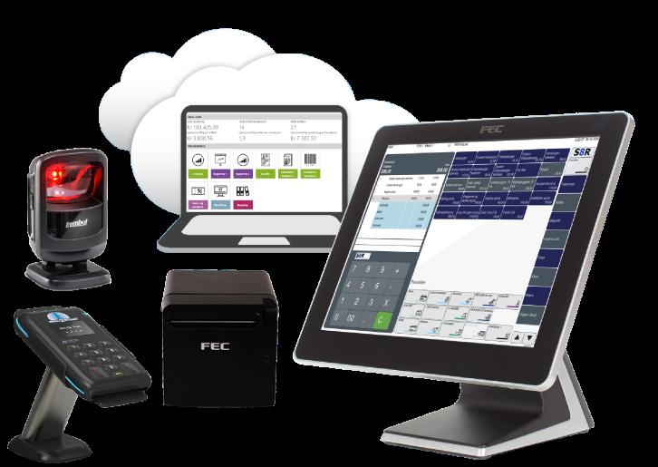 S8R POS, kraftig kassaapparat, kraftig POS, kraftig POS system, billig kassaapparat, kassaapparat, POS system, kassesystem, betalingsterminal, pakketilbud
