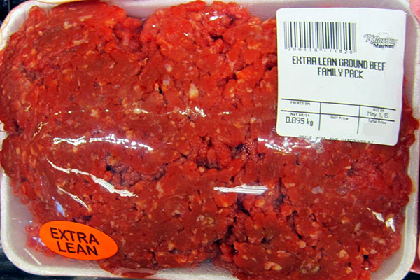 Killarney Market brand Extra Lean Ground Beef Family Pack