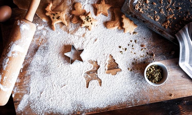 Christmas cookies as last-minute gifts