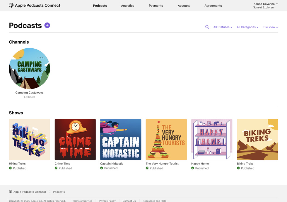 podcast graphics for channel
