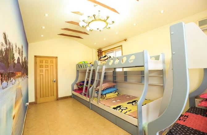 bunk bed room decor home