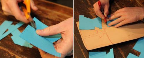 آموزش درست کردن کیف پول چرمی دستساز - مرحله اول