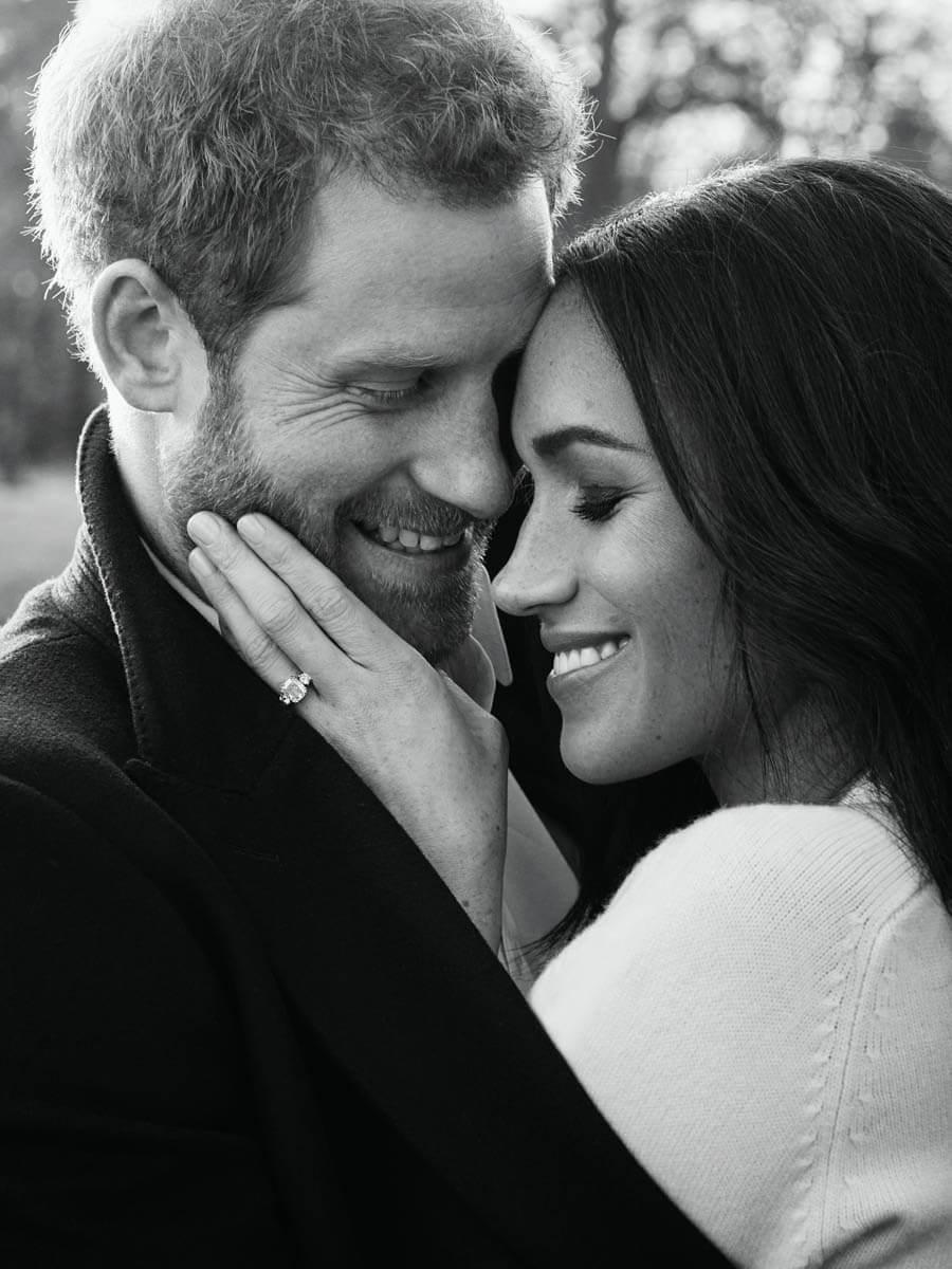 Image result for harry and meghan black and white