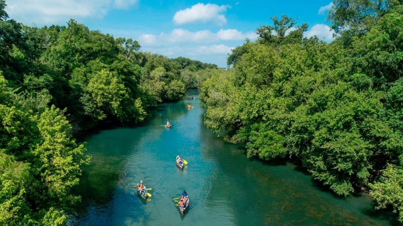 Barton Creek in Austin, TX