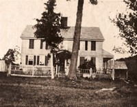 Carpenter House circa 1860