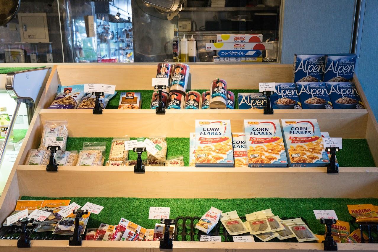 海外食品の数々