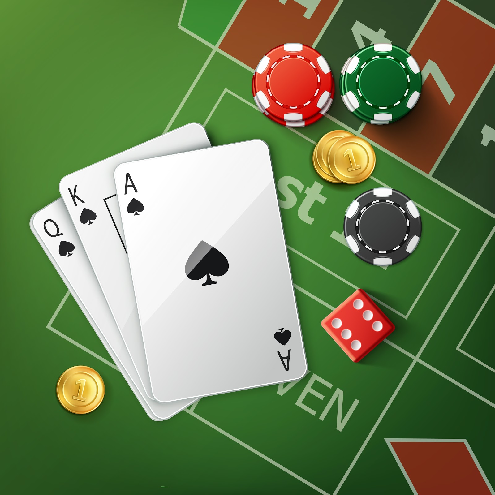3D poker online card games