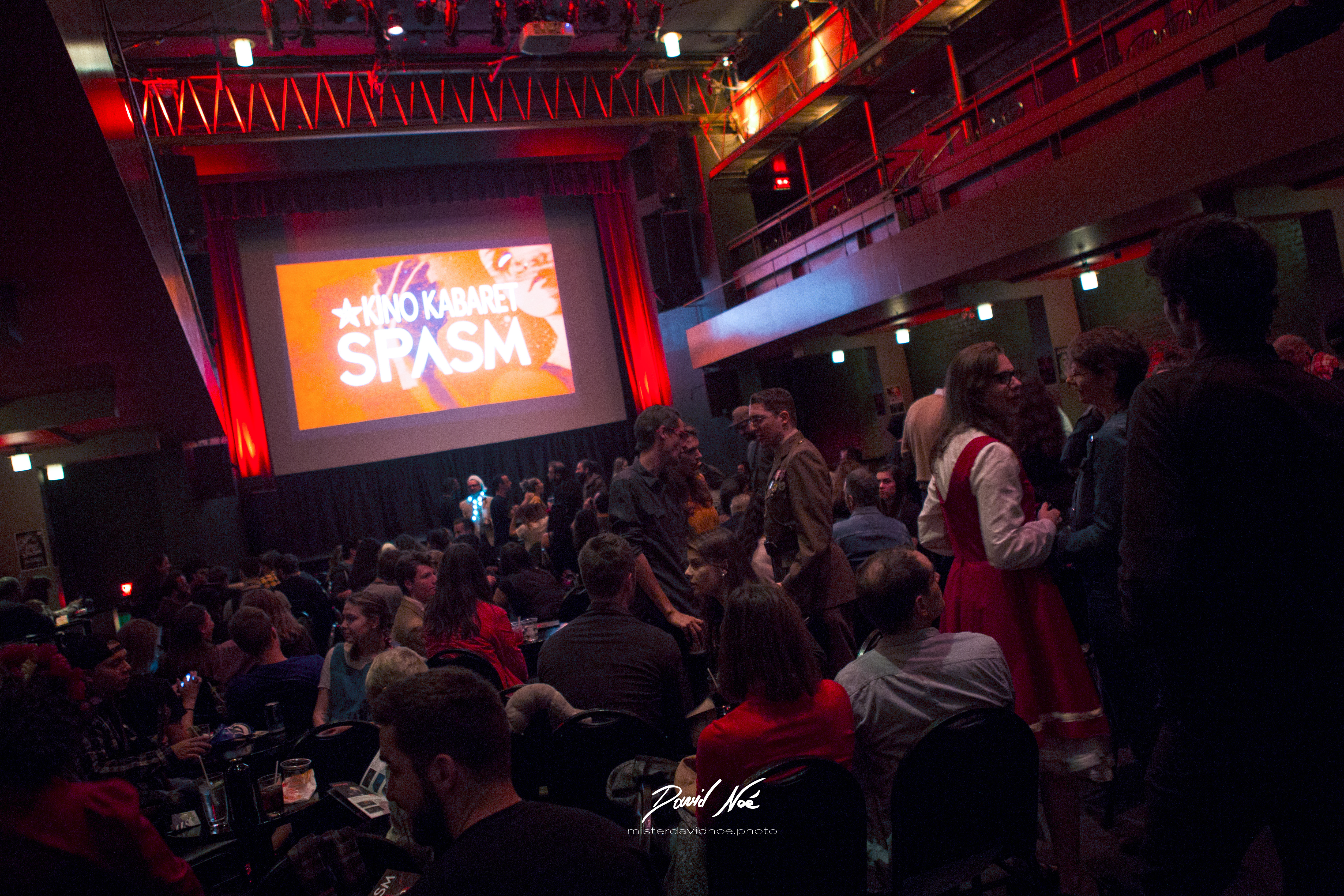 Projection du Kabaret SPASM 2017 au Club Soda