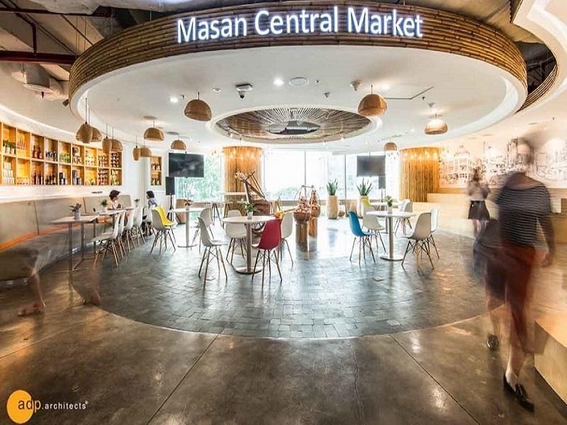 dự án thiết kế không gian văn phòng Masan Consumer